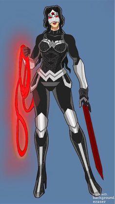 Justice League, Character Art, Batman, Wonder Woman, Amazon, Anime, Women, Amazons, Riding Habit