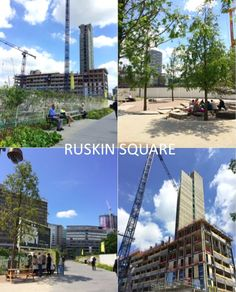 Images I took in ruskin square to get an idea of where our final video will be displayed and shows the building site and proggression.