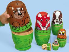 The Mitten Nesting Dolls $19.99