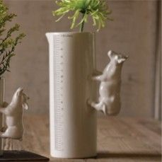 Porcelain Cow Vase - Tall    $24.00 @ http://www.antiquefarmhouse.com/current-sale-events/whimsical-table-settings.html