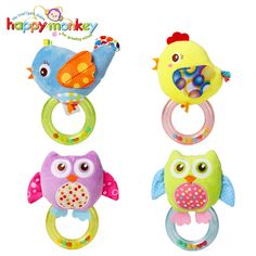 By Rainbow Designs Soft And Antislippery Baby The Very Hungry Caterpillar Teether Rattle
