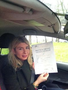 ☻☻☻ Well done to ►► eliana ◄◄ for passing her driving test at Morden T.C .  we can provide you with a comprehensive Automatic or Manual driving lessons.