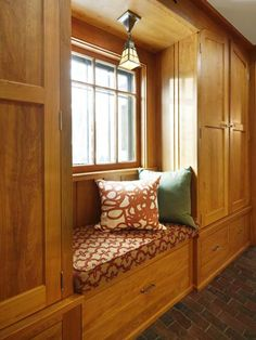 """""""I would love to start seeing more built-ins with natural wood tones, like you see in old Craftsman homes. I think some of the orangey builder-grade cabinets throughout the 1990s turned a lot of people off to wood, but if you choose a species with warm, rich tones—and eschew glossy finishes—it will look timeless, not dated. Oak is a classic, but maple and pine are great choices, too.""""—Megan Baker, associate editorSee the before-and-after of a classic Cr..."""
