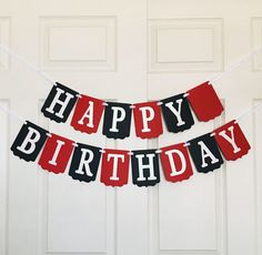 Black Red and White Banner- Happy Birthday Banner- Birthday Party Decoration- Casino Theme Party Banner Casino Theme Parties, Party Themes, Casino Party, Party Ideas, Casino Night, Graduation Decorations, Birthday Party Decorations, Red Birthday Party, 40th Birthday