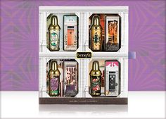 Benefit Cosmetics - crescent row limited edition set #benefitgals