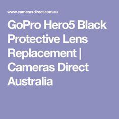 GoPro Hero5 Black Protective Lens Replacement | Cameras Direct Australia