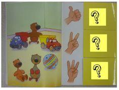 """Notre livre de """"tématic"""", numération - Notre classe de petite section"""