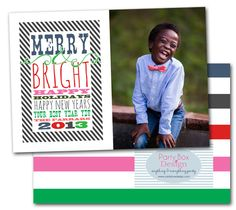 christmas cards, holiday photo cards, photo cards, christmas photo cards, modern christmas cards via Party Box Design. 3 Paper types, totally affordable!
