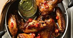 This flavour-packed spicy mint recipe is as easy to make as it is on the hip pocket – and the chicken wings will disappear like magic!