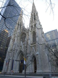 St. Patrick's Cathedral - New York City, New York - Exterior - Archbishop John Hughes