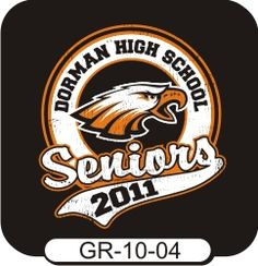 We can make a custom t-shirt design for you whether for it's elementary, middle, high school, or college! Come browse our thousands of templates or give us your own ideas! Spiritwear.com