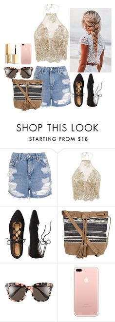 """""""Random #42"""" by aby-ocampo ❤ liked on Polyvore featuring Topshop, TravelSmith, Fat Face, Gentle Monster and Stila"""