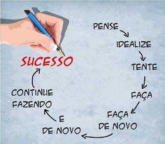 """""""O único lugar onde o sucesso vem antes do trabalho é no dicionário"""". - Albert Einstein #Sucesso #Trabalho #FazerAcontecer #MisterVaga #Emprego"""