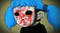 SCARY MASKED KID   Sally Face