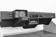 OG | 1974 Audi 50 Typ86 / NSU Project K50 for NSU Prinz replacement | Interior design mock-up