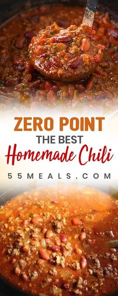ZERO POINT The Best Homemade Chili