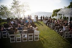 The Guinea Pigs' held their ceremony & reception on the water at the Chesapeake Bay Beach Club in Stevensville, MD. Photo by Amy Deputy.