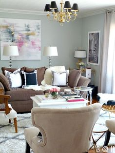 Living Room Ideas via Bliss at Home