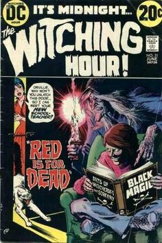 Dc - Dc Comics - Midnight - Black Magic - Scary