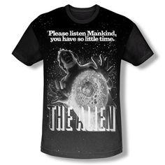 Alien Chestburster Mens Shirt Unique Sublimation Dye Print