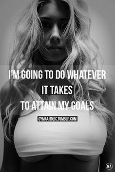 I'm going to do whatever it takes to attain my goals. Yeah baby, this is totally #WildlyAlive! #selflove #fitness #health #nutrition #weight #loss LEARN MORE → www.WildlyAliveWeightLoss.com