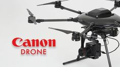 Canon using DJI parts to build their own drone.