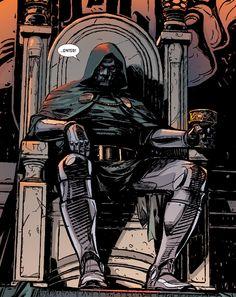 "Doctor Doom in Original Sins #4 - ""Checkmate"" Written by James Robinson Art by Alex Maleev"