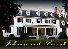 Sherwood Forest. Virginia Plantation on the James River