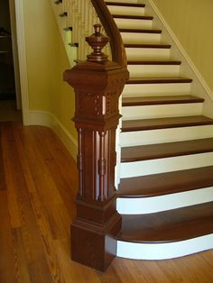 Structural Engineering Custom High End Staircase Project Management Spiral Staircases Atlanta GA Victorian Interiors, Victorian Decor, Victorian Homes, Victorian Architecture, Elegant Home Decor, Elegant Homes, Victorian Stairs, Entry Stairs, Staircase Design