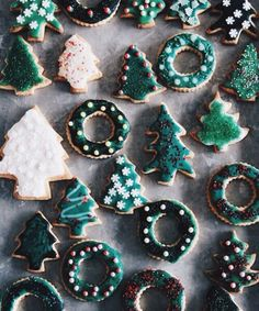 Christmas cookies #holidays #christmas #cookies // December
