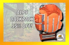 """The ALPS Mountaineering """"Red Rock"""" Pack On Sale 55% Off!"""
