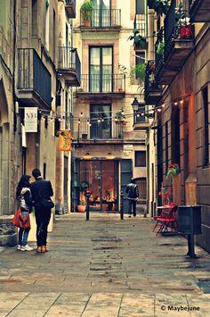 beautiful Barcelona, from my deviantart.
