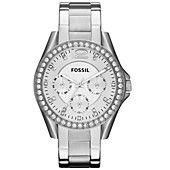 Fossil Watch, Women's Riley Stainless Steel Bracelet 38mm ES3202