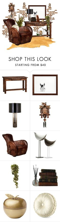 """""""Old Meets New"""" by neicy-i ❤ liked on Polyvore featuring interior, interiors, interior design, home, home decor, interior decorating, DutchCrafters, Pottery Barn, Global Views and Bitossi"""