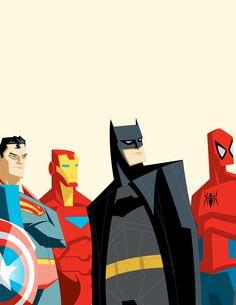 Adam Thompson - The Avengers League of Justice...Assemble4