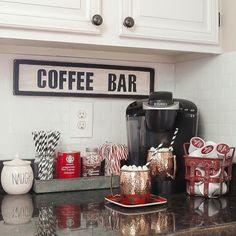 Bom dia!! Cantinho do café para inspirar... #cantinhodocafe #coffee #organização #organizesemfrescuras