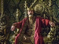 Vikings, Lothaire Bluteau as Emperor Charles of France