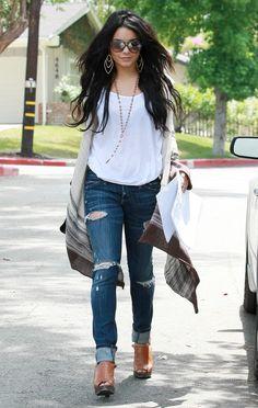 Vanessa has the model boho fashion down no joke