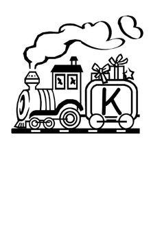 Lernübungen für kinder zu drucken. Infant Alphabete 28