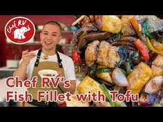 FISH FILLET WITH TOFU - YouTube Tofu Dishes, Pinoy Food, Fish Recipes, Seafood, The Creator, Cooking Recipes, Favorite Recipes, Ethnic Recipes, Rv