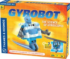 Best Christmas Toys for 8 Year Old Boys - The Gyrobot is one of our favorite #stemtoys