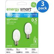 GE LED Accent Night Light - 6 bulbs  #WalmartGreen