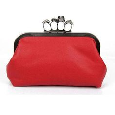 New Women Ring Bag Skeleton Skull Finger Clutch Purse Evening Handbags Wallets | eBay