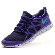 new product 40692 c2e54 Cheap Nike Free Men s Running Shoe Obsidian Pure Purple Turquoise Blue