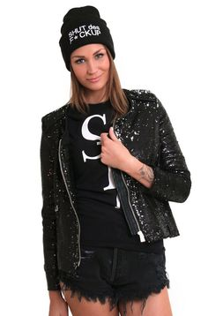 NEVER NAKED - Sequin Blazer Black Sequin Blazer, Black Blazers, Naked, Sequins, Jackets, Clothes, Fashion, Down Jackets, Tall Clothing