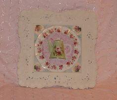 Shabby chic 3D green teapot mosaic wall art by mrsdutchy (shabbygirlmosaics), via Flickr
