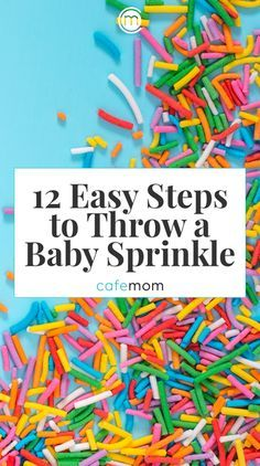 """A """"baby sprinkle"""" is a small, more chill baby shower that's thrown to celebrate a second, third, or even later pregnancy. Read on for inspiration on how to put together a baby sprinkle with panache. #baby #pregnantlife"""