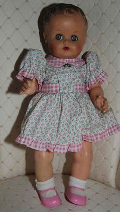 Vintage Sun Rubber Company Doll Sleepy Eyes (04/13/2014)
