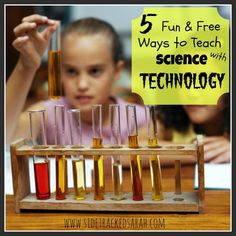 Great resources to teach your students science using technology!  #technology #science #computergames