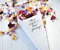 Biodegradable Confetti, Biodegradable Products, Confetti Cones, Wedding Confetti, Event Styling, Make Me Happy, Delivery, Rainbow, Apple